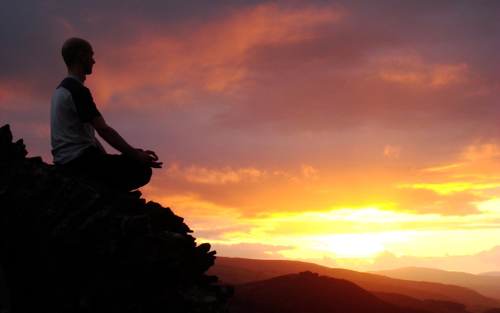 Medytacja o zachodzie słońca - Michał Miodoński Ramante